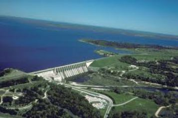 Lake Whitney Dam