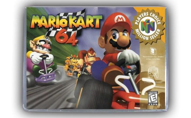 Mario Kart 64 N64 Nintendo 64 Game Case Box Cover Brand