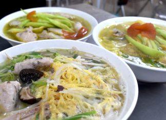 bun moc hanoi breakfast