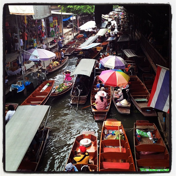 Mekong Delta day rip in Thailand