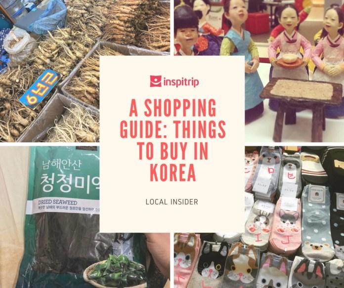 things to buy in Korea