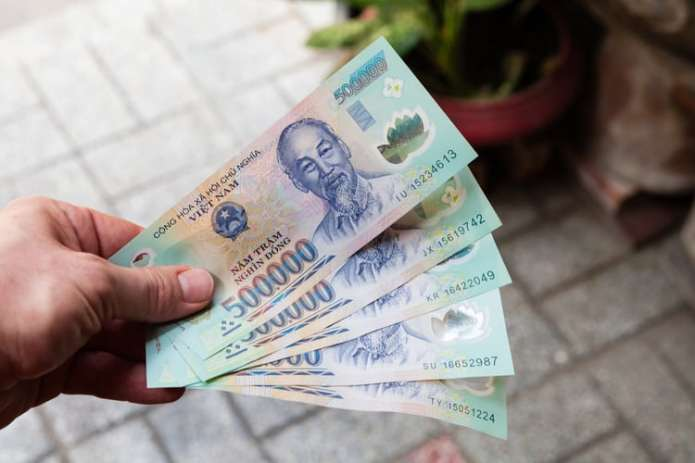 Exchange some Vietnamese currency beforehand
