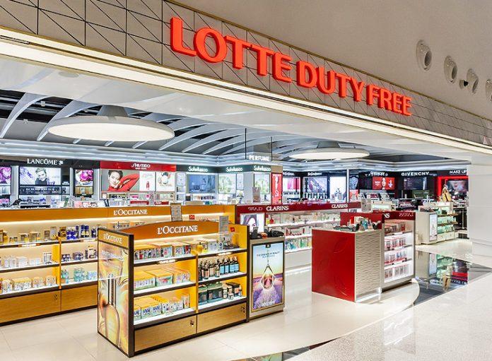 Lotte Duty-free store at Da Nang Airport