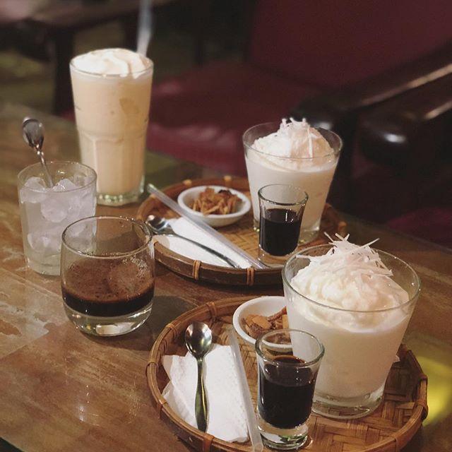 다낭 미케비치 카콩카페 코코넛 커피