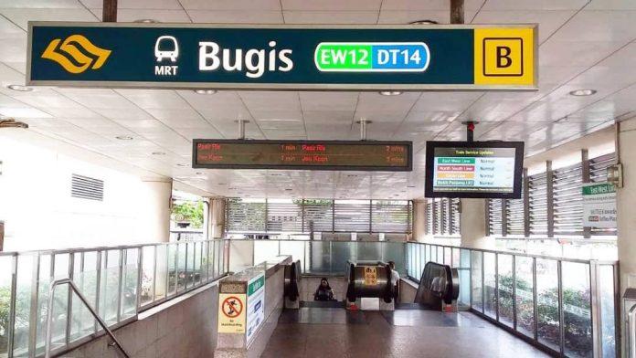 Đi từ Bugis đến GBTB