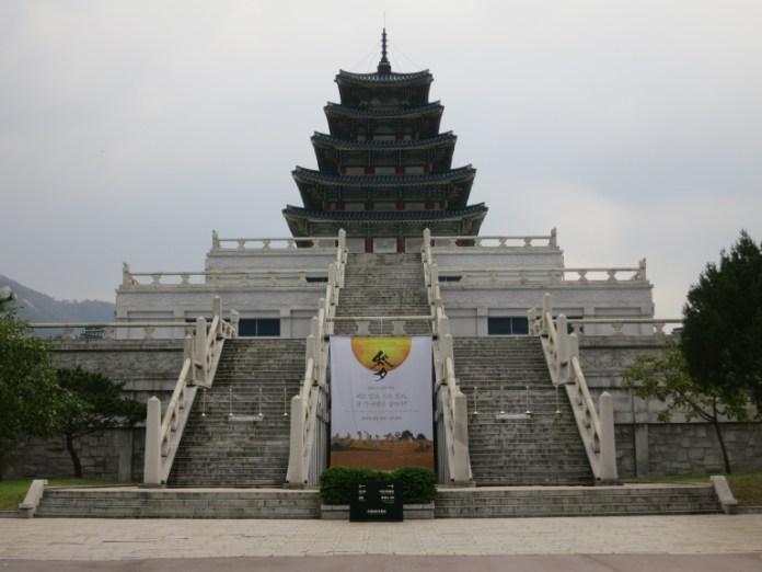 cung điện gyeongbokgung - bảo tàng dân gian quốc gia Hàn Quốc