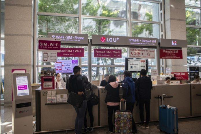 Nhà mạng SIM 4G tại sân bay