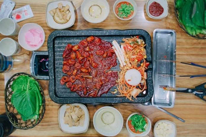 Thịt nướng trên đảo Jeju