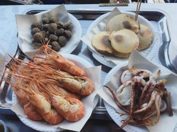 hải sản ở thái lan