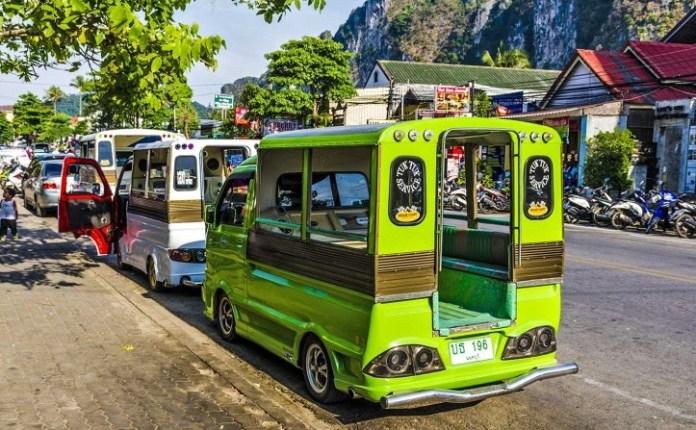 songthaew ở Krabi