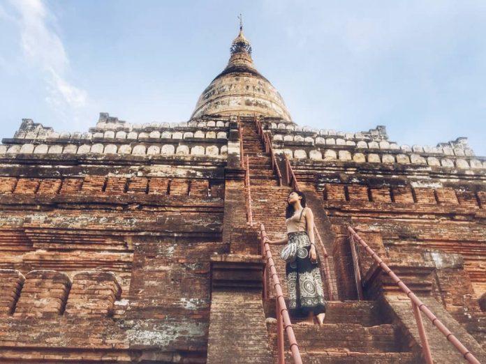 Khám phá Myanmar qua Đền Shwesandaw