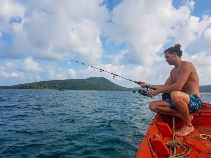 câu cá ở koh rong samloem