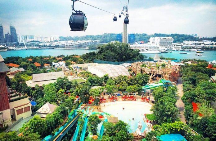 du lịch sentosa singapore