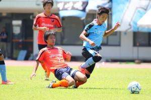 武田選手も前線へ上がる場面が増えた