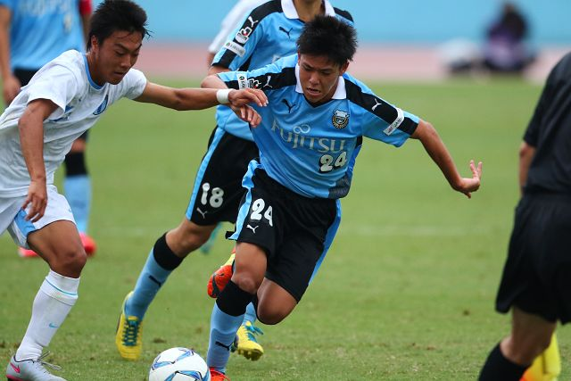 2試合連続の先発、川崎選手
