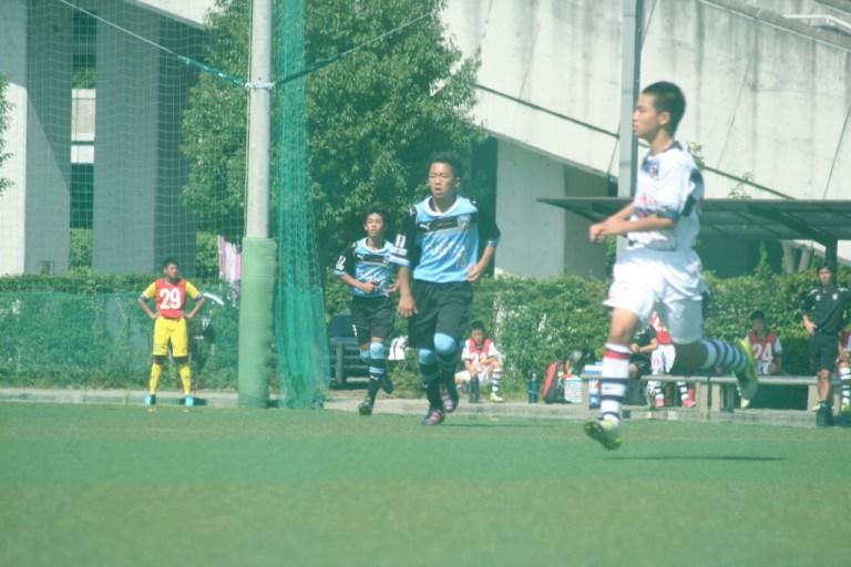 攻守に活躍した横山選手と球際の強さが光った松永選手