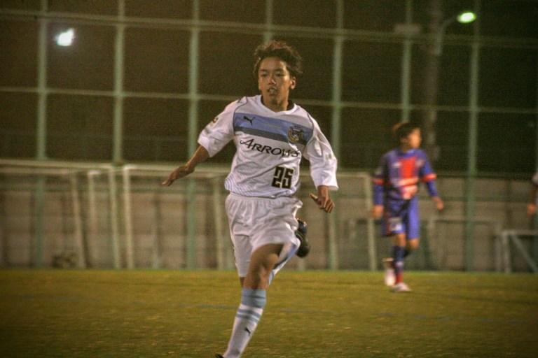 2ゴールの佐藤選手