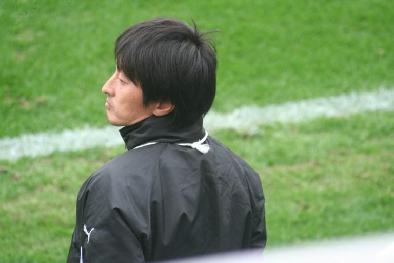 フロンターレでかつてプレーをした金沢星稜の小松崎保監督