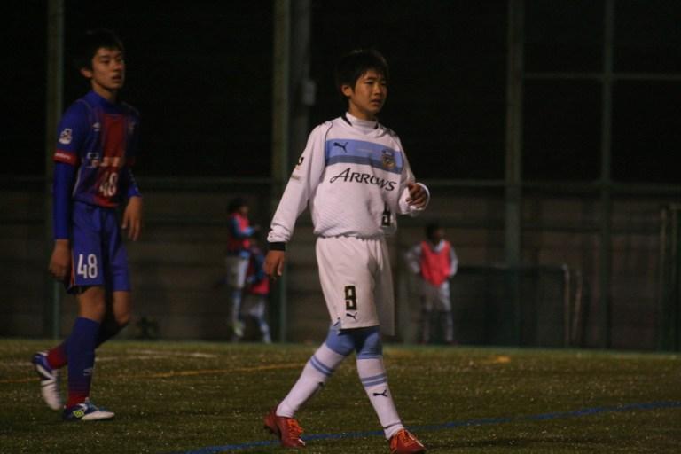 鈴木大登選手。この日はなかなかシュートを打てなかった