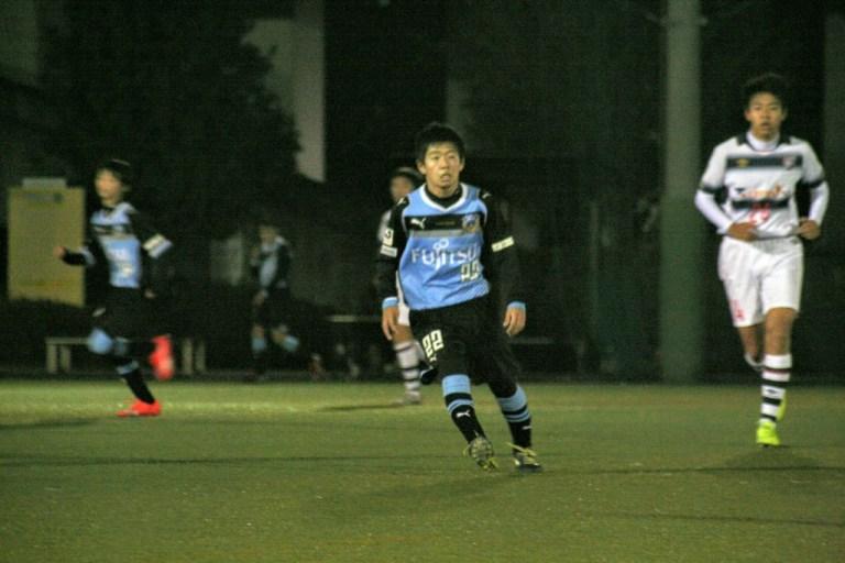 ゴールの起点になった黒川選手