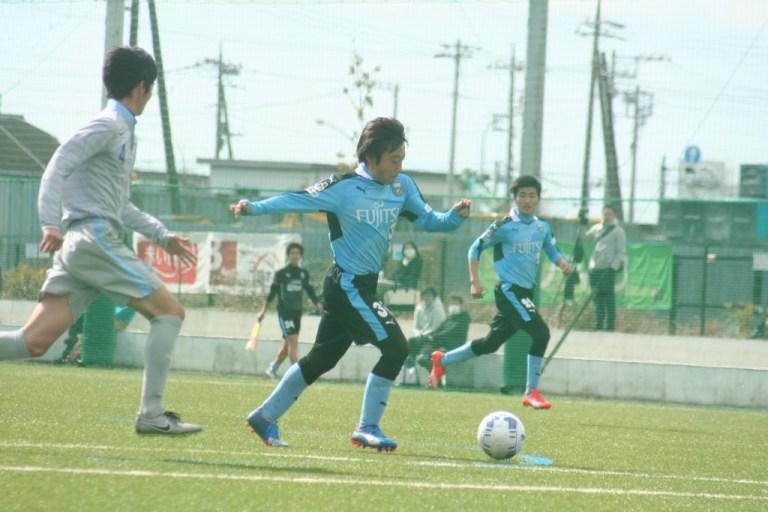 続いて行われた練習試合にも出場した池谷祐輔選手
