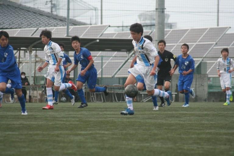 後半はたびたび攻撃参加した山崎健翔選手