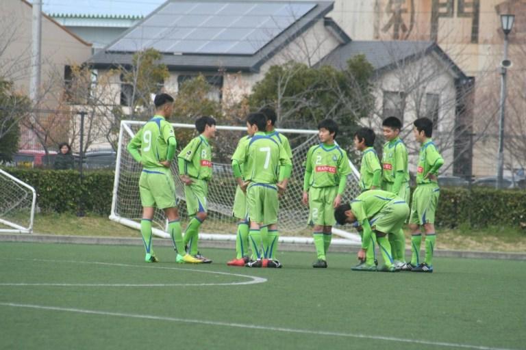 湘南ベルマーレジュニアユースの選手たち