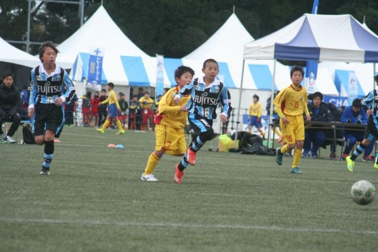新5年生の名賀海月選手も途中出場