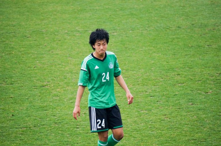 横浜F・マリノスユース出身の中杉雄貴選手も一年生。昨年はプリンスリーグでフロンターレからもゴールを決めた