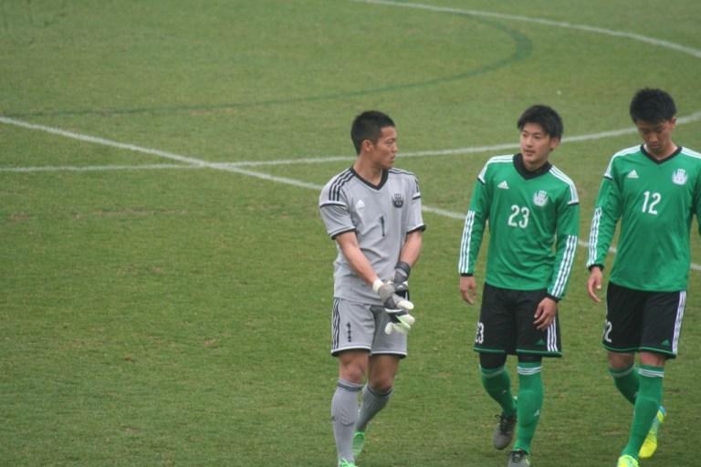 左から玉永大地選手、岸晃司選手、西村慧選手