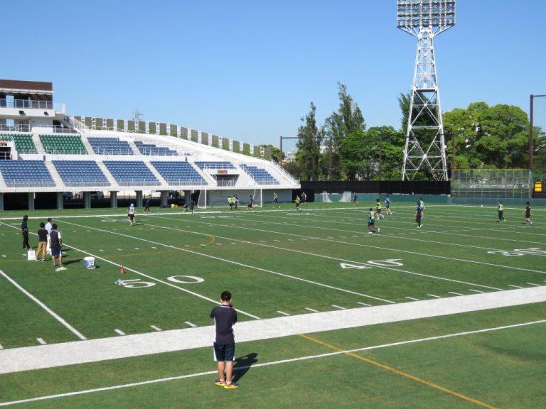 会場となったのはかつての川崎球場、富士通スタジアム川崎