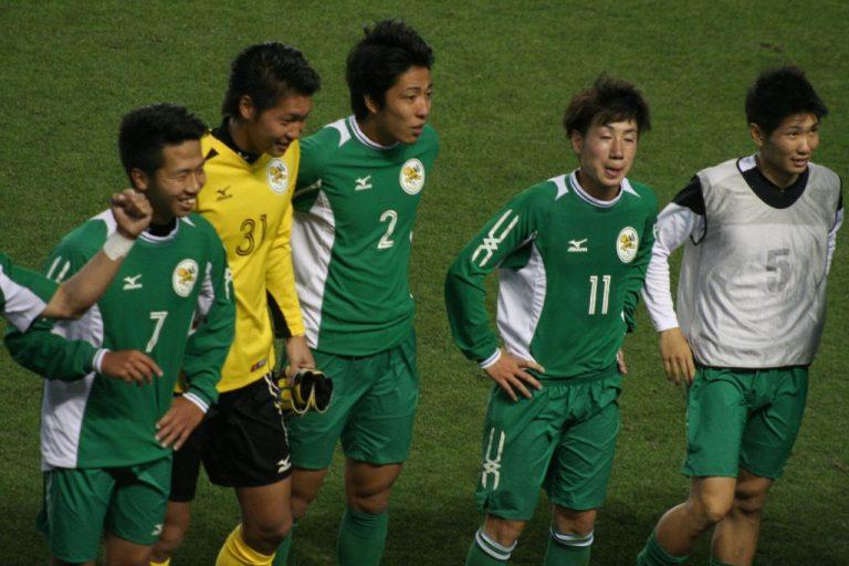 応援へ感謝する大阪体育大の選手たち