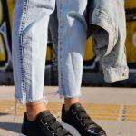 Women's Black Sport Shoes