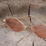 Women's Detailed Retro Glasses