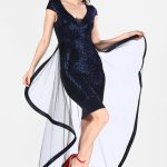Women's Sequin Saxe Dress