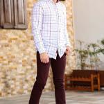 Men's Pocket Claret Red Jeans