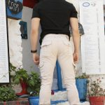 Men's Elastic Ankles Stone Pants