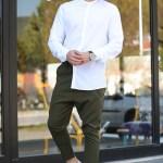 Men's Chain Detail Khaki Pantalettes