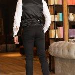 Men's Basic Black Pants