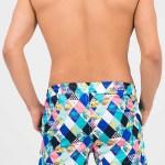 Men's Multi-color Swim Shorts