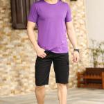 Men's Black Cargo Shorts