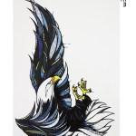 Eagle Model Temporary Tattoo