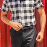 Men's Plaid Slim Fit Shirt