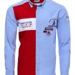 Men's Button Crested Shirt