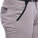 Men's Pocket Brown Cotton Pants