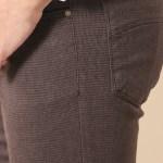 Men's Skinny Cut Brown Pants