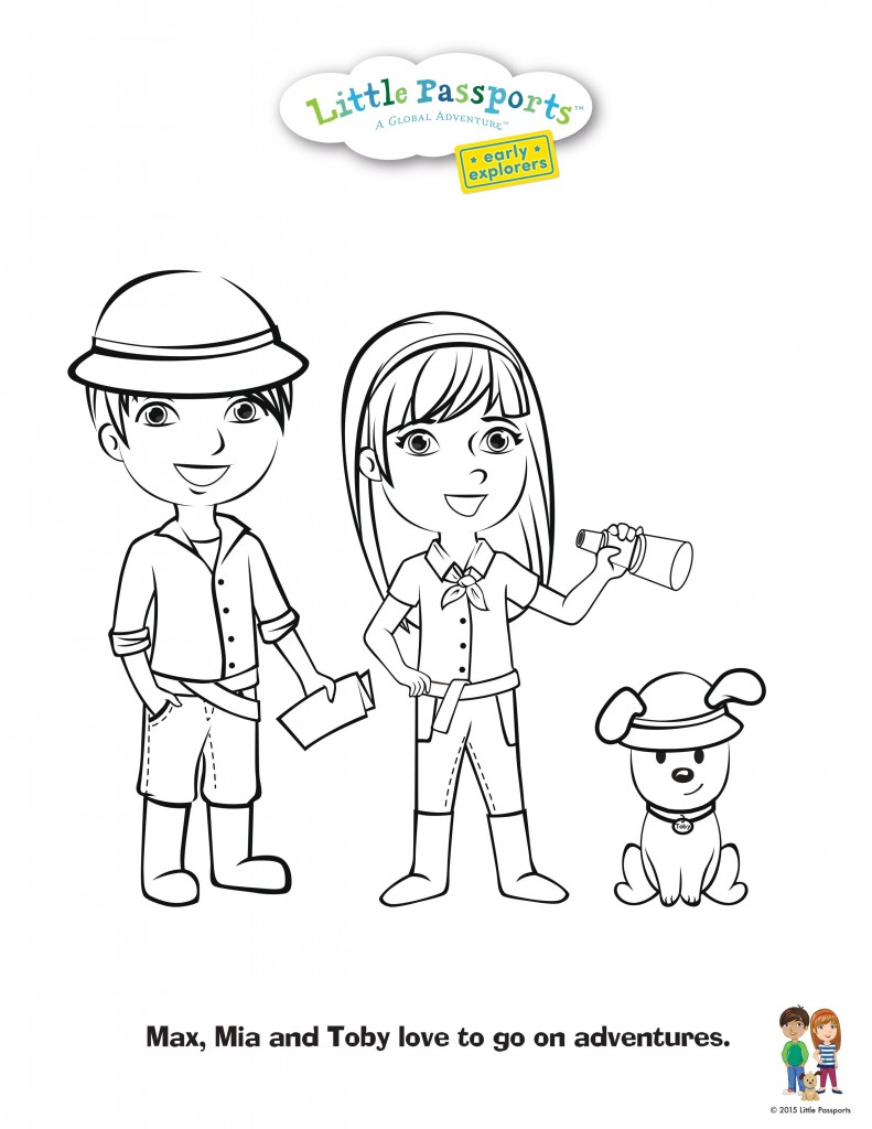 Free Coloring Sheets for Kids!