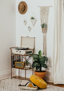 Record Player Nook - Livvyland Austin Fashion And Style