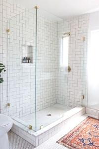Design Crush: Brushed Gold Bathroom Fixtures - LivvyLand ...