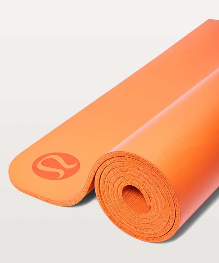 e0fd1e4ad9 Lululemon The Reversible Mat 5mm Orange Flash Lulu Fanatics